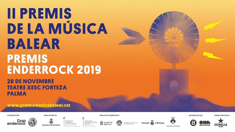 II Premis de la Música Balear Premis Enderrock 2019