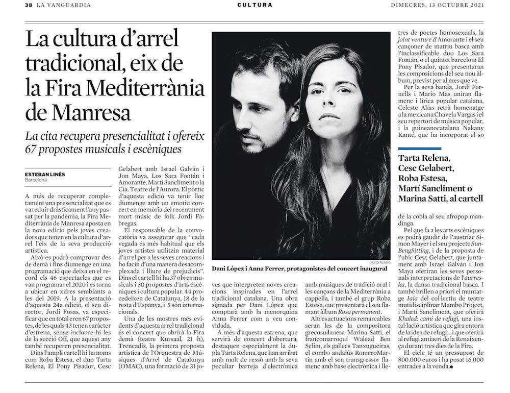 Anna Ferrer inaugura la Fira Mediterrània a Manresa