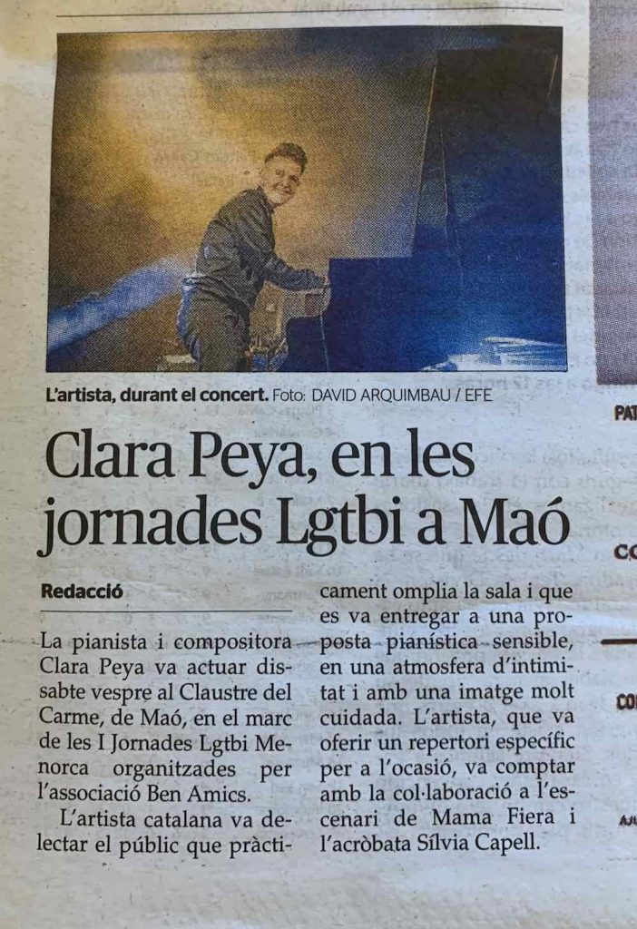 Clara Peya al Claustre